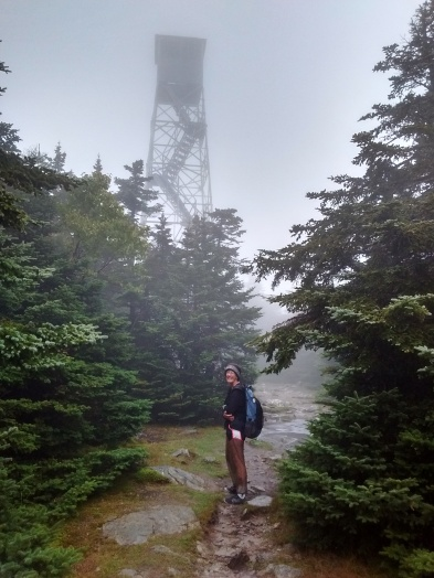The top of Stratton Mountain.